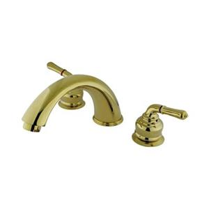 Elements of Design Magellan 7.7-in Polished Brass Roman Tub Filler