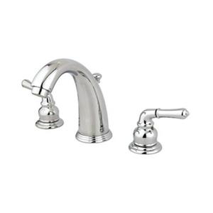 Elements of Design Magellan Chrome Twin Handle Widespread Faucet