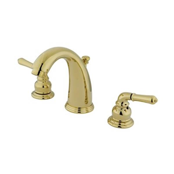 Elements of Design Magellan Brass Twin Handle Widespread Faucet