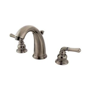 Elements of Design Magellan Nickel Twin Handle Widespread Faucet