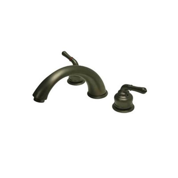 Elements of Design Magellan 7.7-in Oil-Rubbed Bronze Widespread Faucet