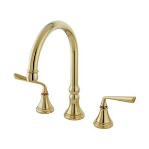 Elements of Design Silver Sage Two Handle Kitchen Faucet