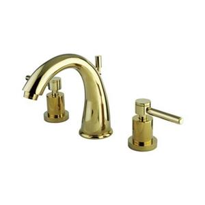 Elements of Design Concord Polished Brass Widespread Faucet