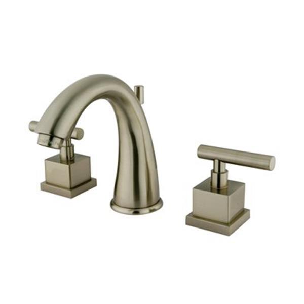 Elements of Design Claremont Satin Nickel Widespread Faucet