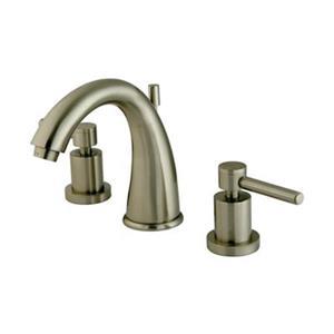 Elements of Design Concord Satin Nickel Widespread Faucet