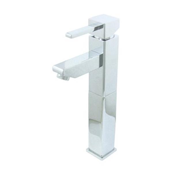 Elements of Design Chrome Claremont Vessel Sink Single Hole Faucet