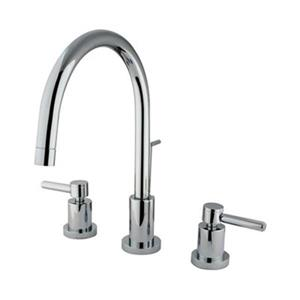 Elements of Design Chrome Concord 2-Handle Widespread Faucet