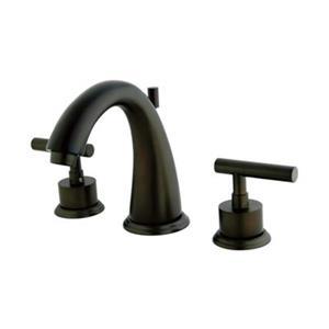 Elements of Design Bronze Manhattan Widespread Faucet