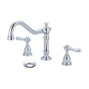 Pioneer Ind. Americana Polished Chrome Two Handle Widespread Faucet