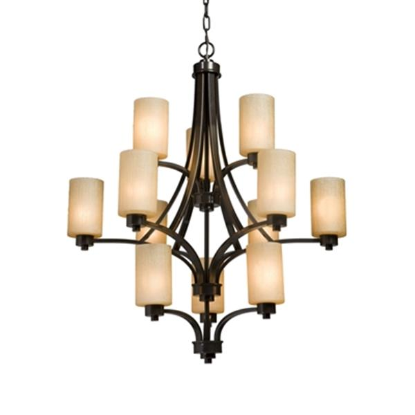 Artcraft Lighting Parkdale Oil Rubbed Brone 12-Light Chandelier