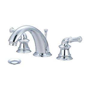 Pioneer Industries Del Mar Polished Chrome Two Handle Widespread Faucet