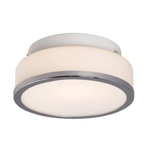 Galaxy Chrome Flush Mount Ceiling Light