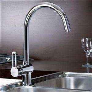 WS Bath Collections Ringo 14.60-in Single Handle Kitchen Faucet