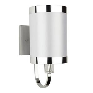 Steven & Chris by Artcraft Madison 1-Light Wall Sconce -  White