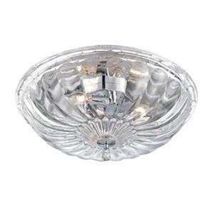 Eurofase Lighting Vintage Chrome Flush Mount Light