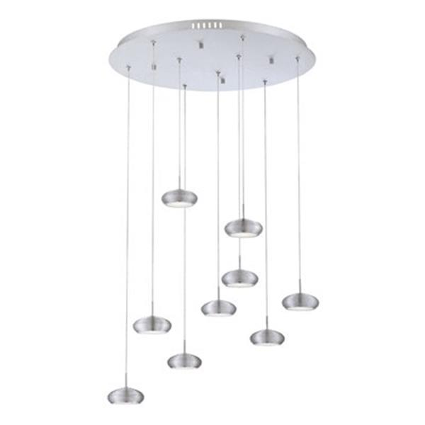 Eurofase Venti Collection 24-in Aluminum Disc LED Pendant Light