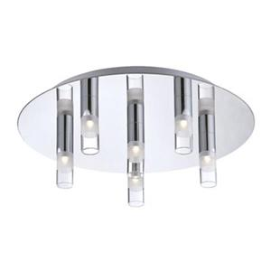 Eurofase Cube Chrome 6-Light Flush Mount Light