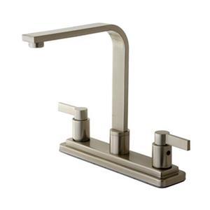 Elements of  Design NuvoFusion Euro High Rise Spout Kitchen Faucet