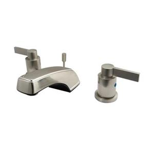 Elements of Design NuvoFusion Satin Nickel Widespread Lavatory Faucet
