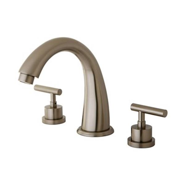 Elements of Design Manhattan Satin Nickel  Roman Tub Filler