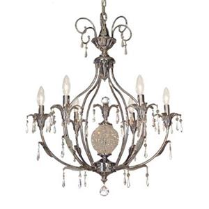 Classic Lighting Sharon 6-Light Chrome Chandelier
