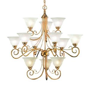 Classic Lighting 12-Light Torino Gold Chandelier
