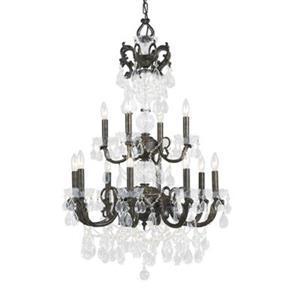 Classic Lighting Vienna Palace 12-Light English Bronze Chandelier