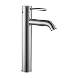 ALFI Brand Brushed Nickel Tall Single Lever Bathroom Faucet