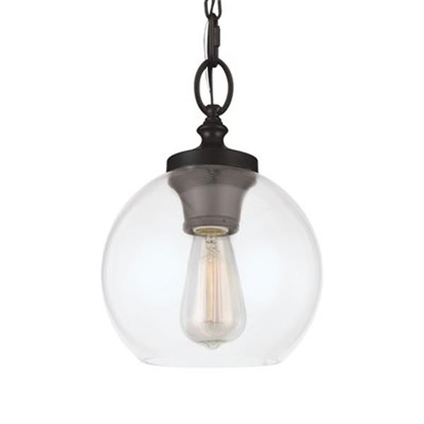 Feiss Tabby Oil Rubbed Bronze 1-Light Pendant Light