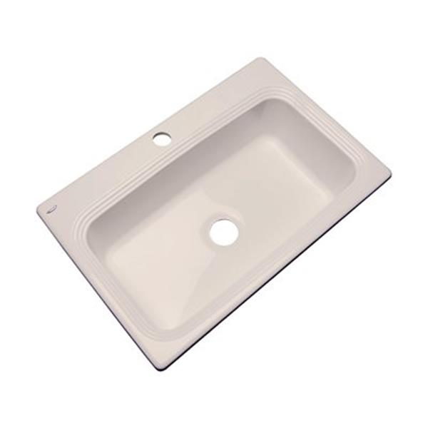 Dekor Ridgebrook 33-in x 22-in Desert Bloom Single Bowl Kitchen Sink