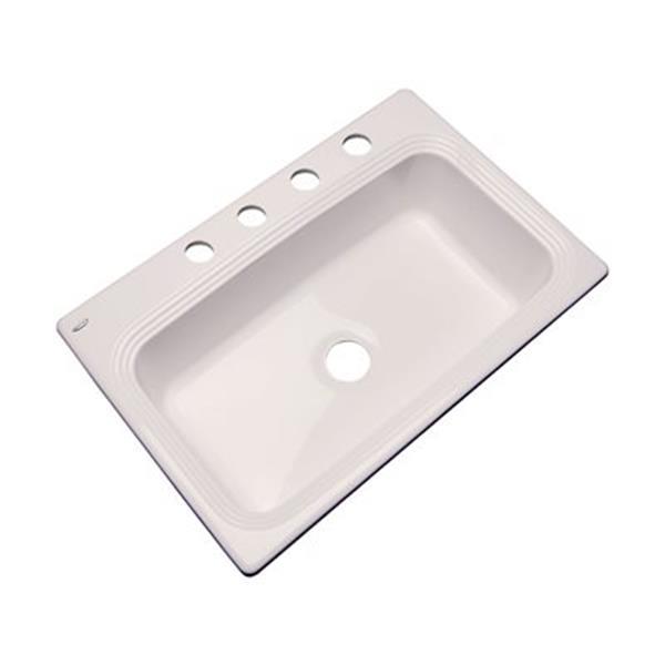 Dekor Ridgebrook 33-in x22-in Natural  Single Bowl Kitchen Sink