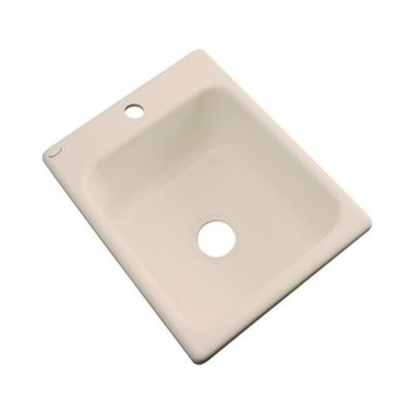 Dekor Danforth 22-in x 17-in Candlelyght Prep Sink
