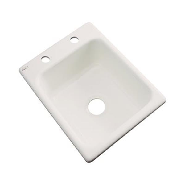 Dekor Danforth 17-in x 22-in Natural Prep Sink