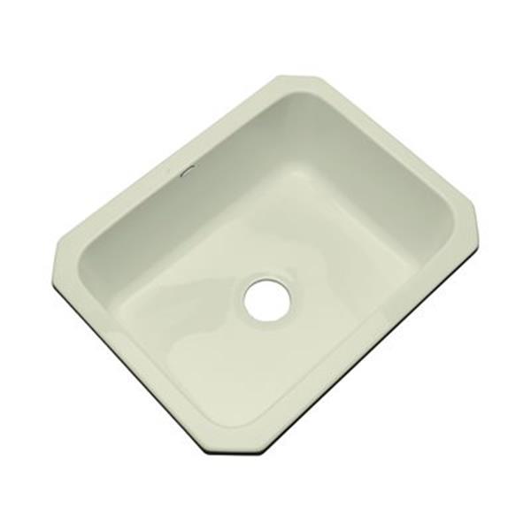 Dekor Princeton 25-in x 22-in Jersey Cream Undermount Kitchen Sink