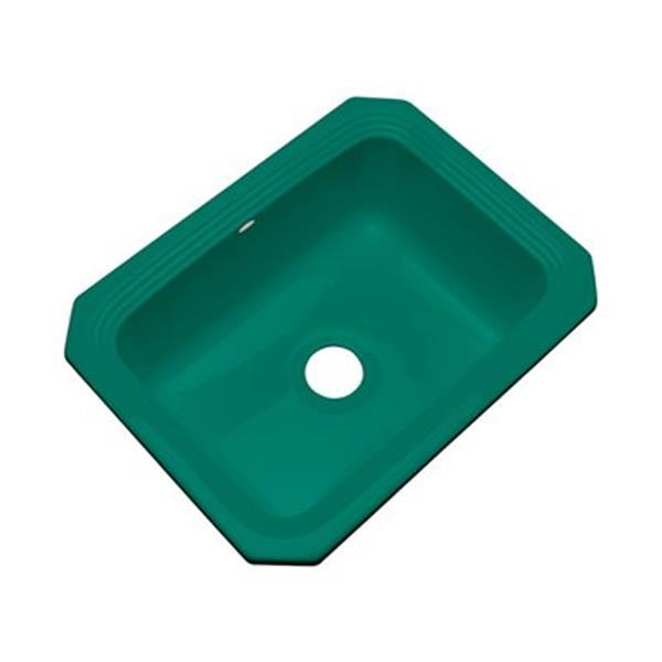 Dekor Chaumount 25-in x 19-in Verde Undermount Kitchen Sink
