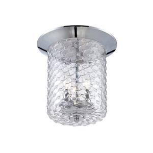 Eurofase Elli Chrome 3-Light Flush Mount Ceiling Light