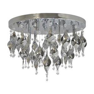 Amlite Lighting Tiara 6 Light Semi Flush Ceiling Light