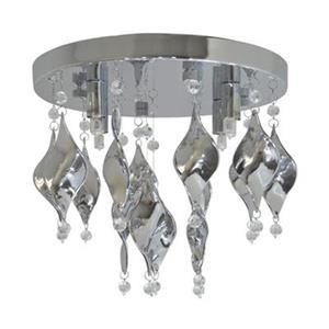 Amlite Lighting Tiara 4-Light Semi Flush Ceiling Light