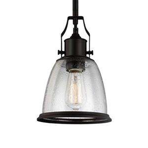 Feiss Hobson Oil-Rubbed Bronze Pendant.