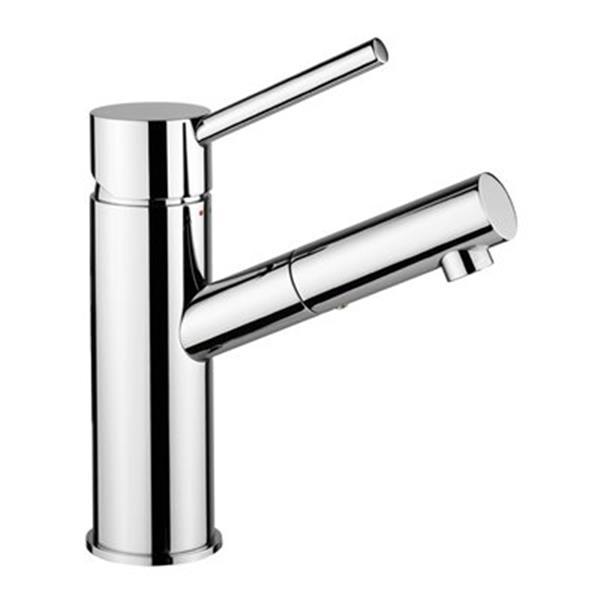WS Bath Collections Birillo Polished Chrome Wash Basin Mixer