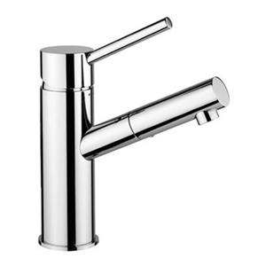 WS Bath Collections Birillo Polished Chrome Wash Basin Mixer