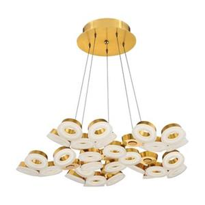 Eurofase Glendale 30-Light Gold LED Pendant