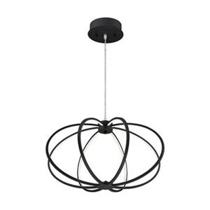 Eurofase Leggero 8-Light Black LED Pendant