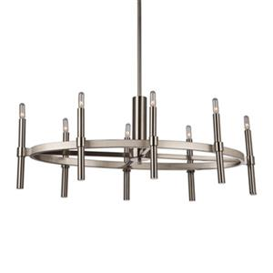Artcraft Lighting Encore 8-Light Polished Nickel Chandelier