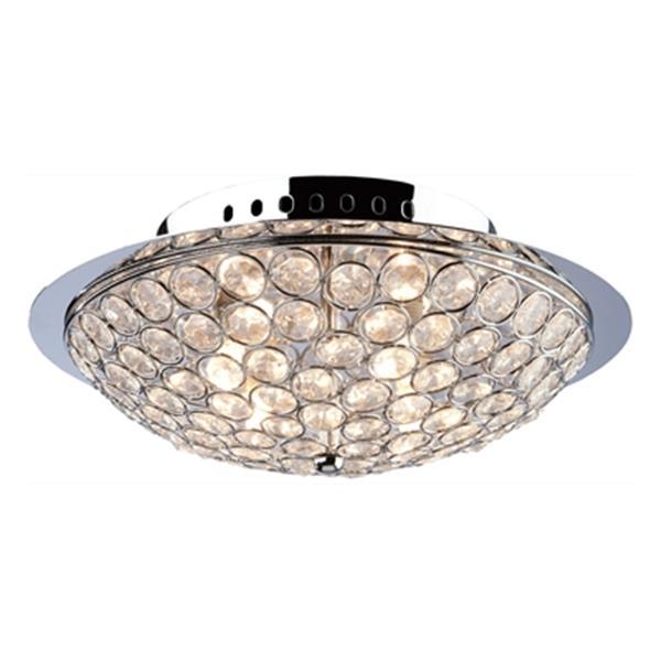 Artcraft Lighting Gage Park Round 3 Light Flush Mount Ceiling Light Ac10101 Rona