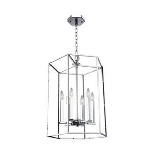 Artcraft Lighting Modern Elegance 6-Light Chrome Chandelier