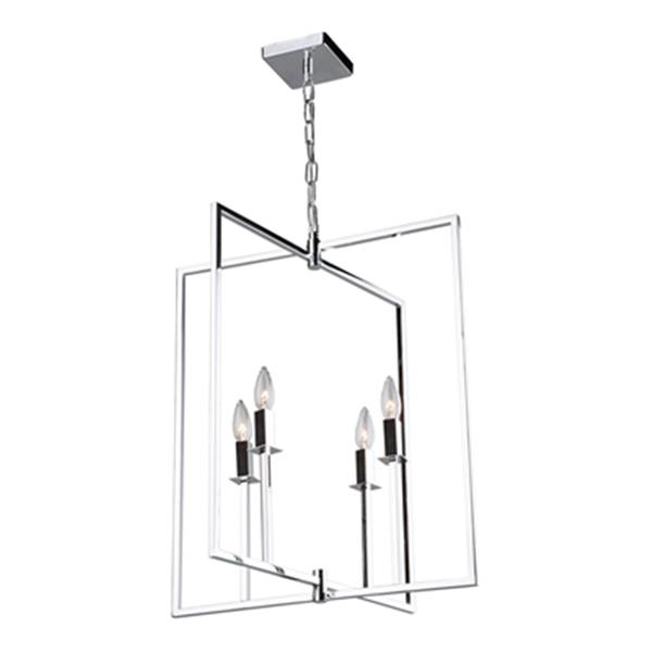 Artcraft Lighting Allston 4-Light Chrome Chandelier