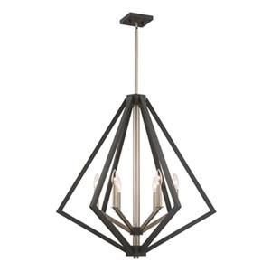 Artcraft Lighting Breezy Point 6-Light Bronze Ceiling Pendant
