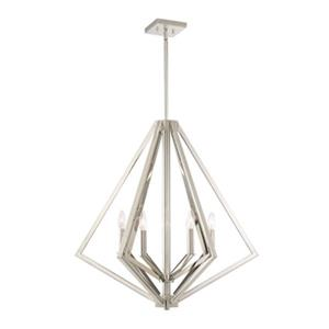 Artcraft Lighting Breezy Point 6-Light Polished Nickel Ceiling Pendant