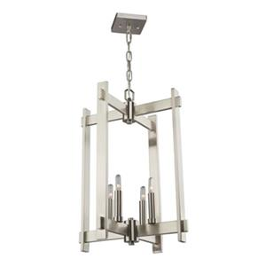 Artcraft Lighting CobiStyle Cityscape 4-Light Polished Nickel Pendant